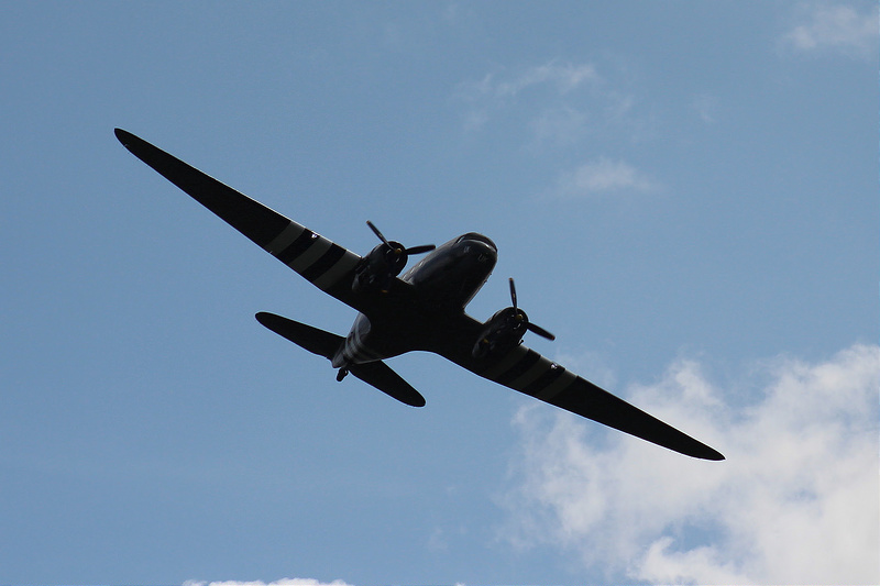 Battle of Britain Memorial Flight Flypast