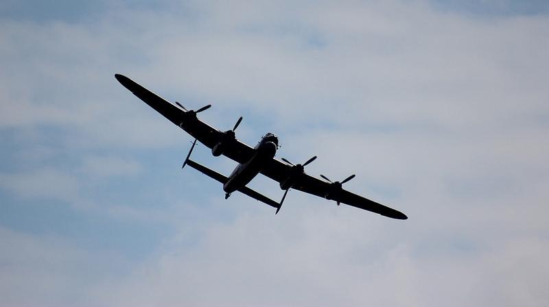 BBMF - Lancaster Flypast