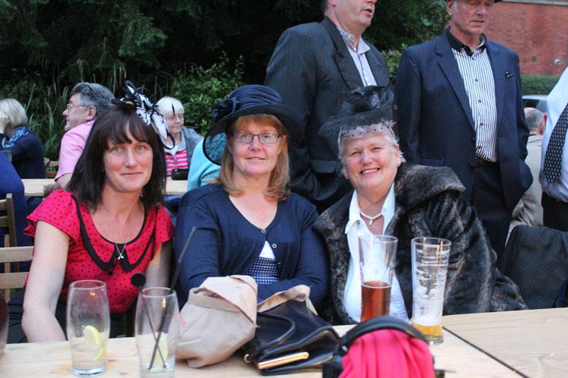 Enjoying the entertainment at The Inn at Woodhall Spa