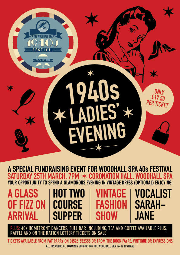1940's Ladies Evening