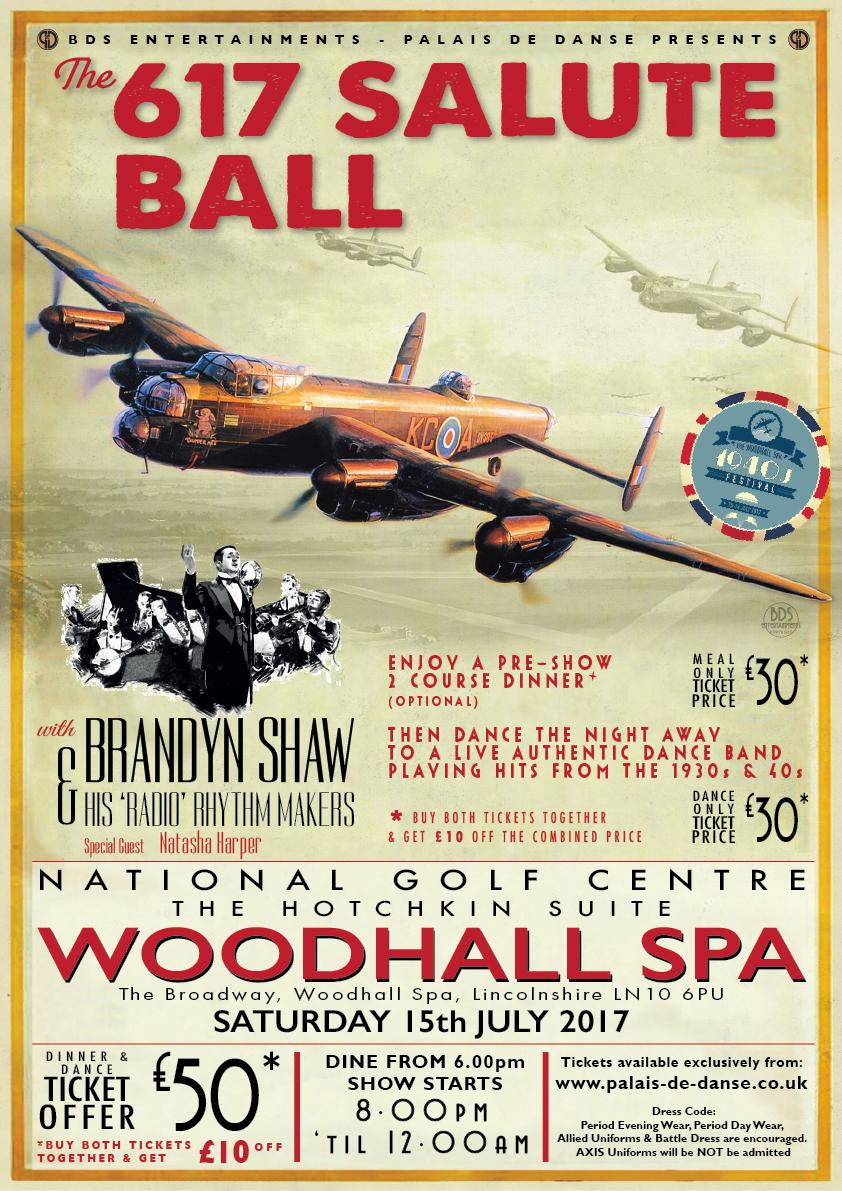617 Salute Ball poster