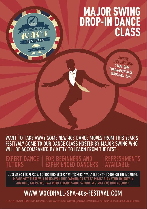 Major Swing Drop-in Dance Class