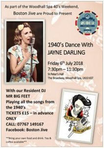 1940's Dance with Jayne Darling