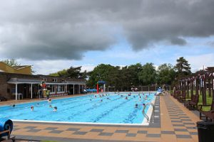 Jubilee Park outdoor heated swimming pool