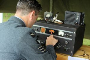 RAF Radio operator