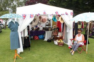 Trade stall in Jubilee Park