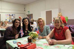 Tea Dance guests in Coronation Hall