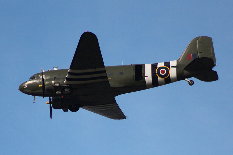 Battle of Britain Memorial Flight - Flypast