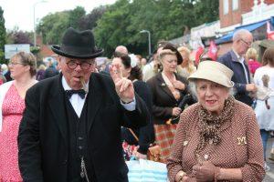 Mr & Mrs Churchill