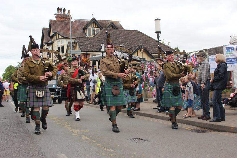 Re-enactors Parade