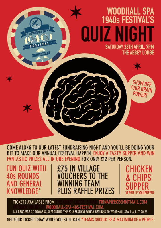 40s Quiz Night 2018
