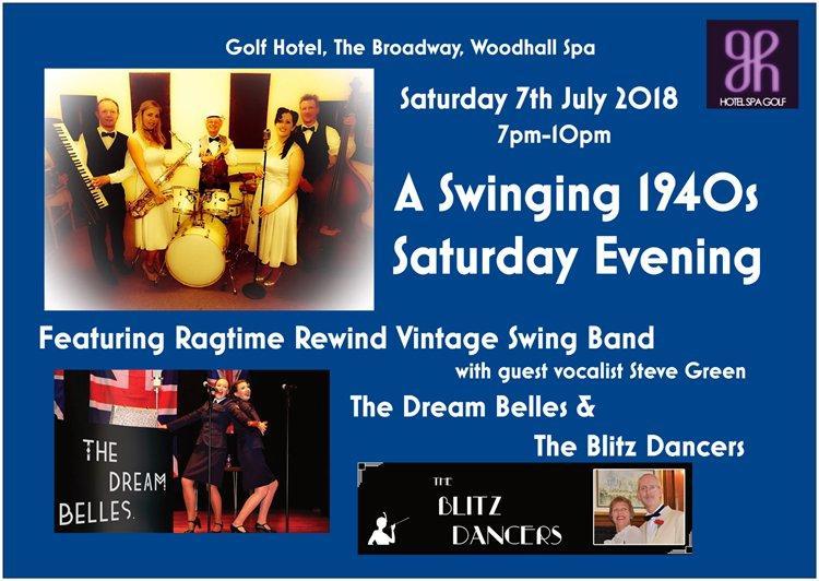 A Swinging 1940's Saturday Evening